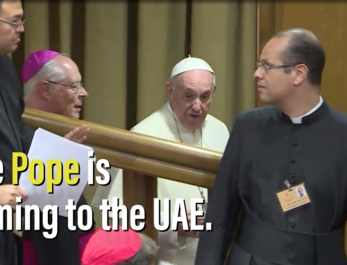About the visit of Pope Francis to the UAE