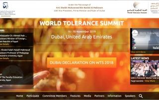 World Tolerance Summit 2019