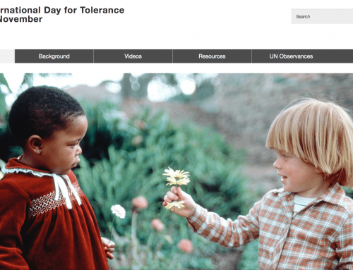 International Day Of Tolerance, UN