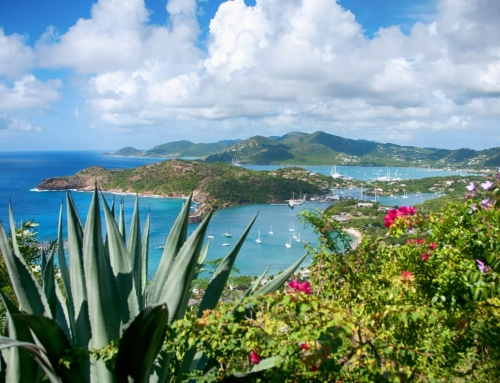 Falmouth bay, Antigua, Caribean