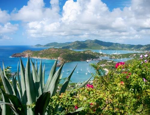 Falmouth bay, Antigua, Caribean