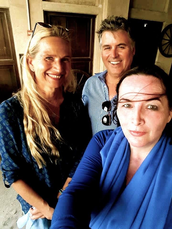 Global Tolerance Faces Astrid Prinzessin Zu Stolberg, Hans Fraikin