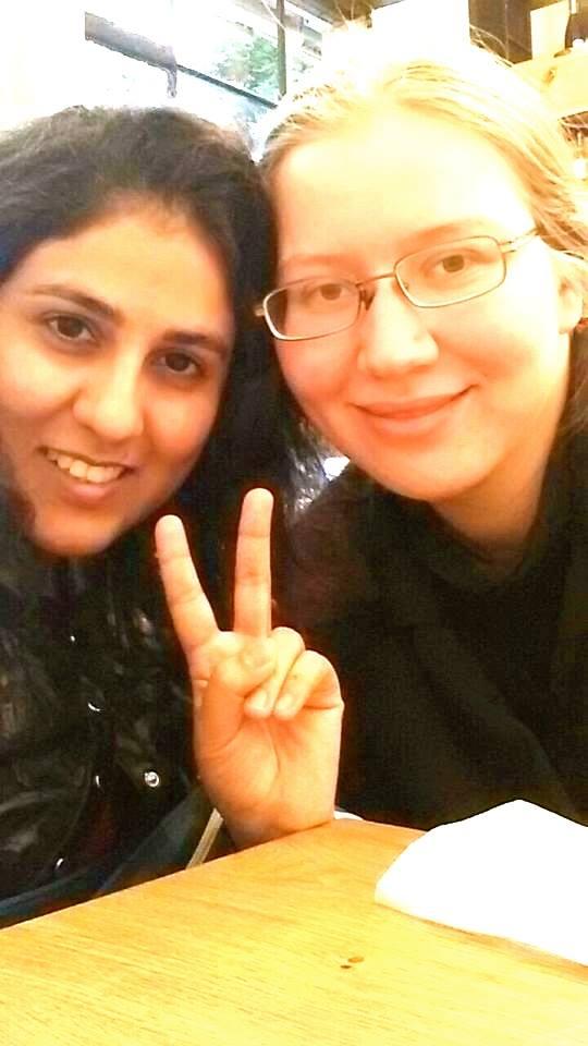 Global Tolerance Faces Ayesha Akram Naples Italy