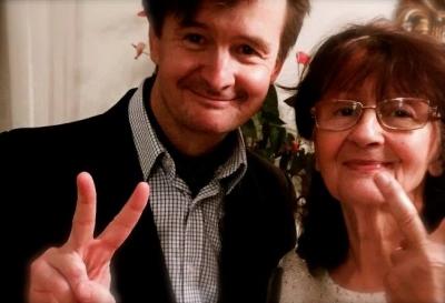 Global Tolerance Faces Bernd Liebmann and mum from Graz Austria